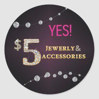 Yes! $5 Jewelry and Accessories Stickers