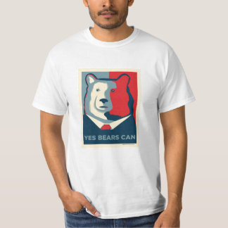 Yes Bears Can Value T-shirt (Unisex)
