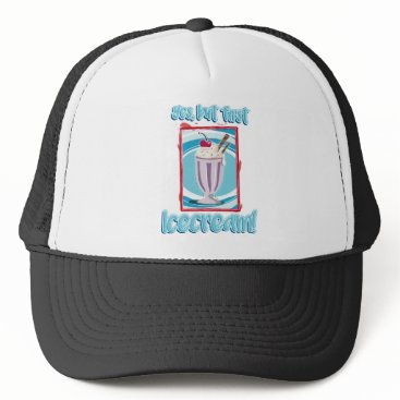 Beach Themed yes, but roofridge icecream trucker hat