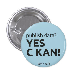 Yes C KAN Badge publish data Pinback Buttons