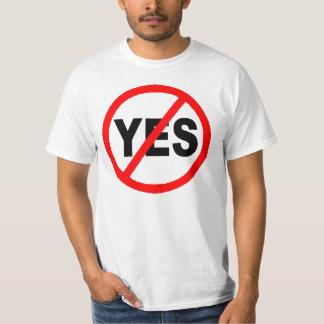 Yes Circle Slash T-Shirt