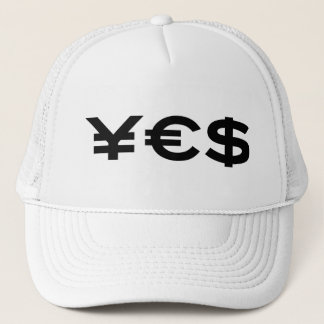 Yes (Currency) Hat