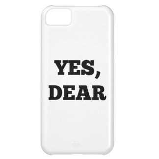 Yes Dear Cover For iPhone 5C
