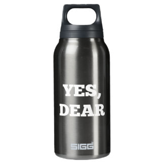 Yes, Dear Insulated Water Bottle