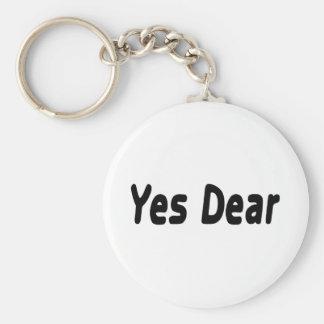 Yes Dear Keychain