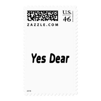 Yes Dear Postage Stamps