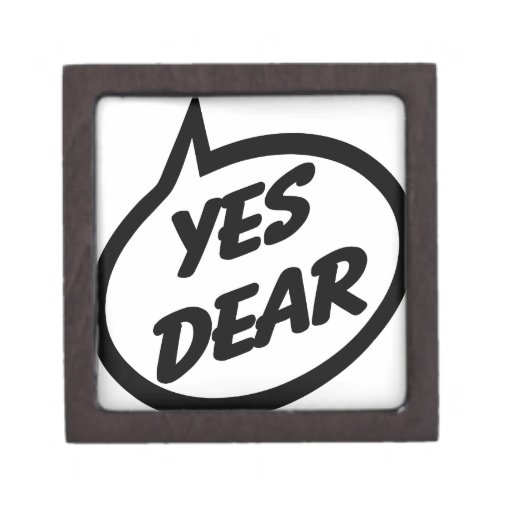 Yes Dear Premium Jewelry Box
