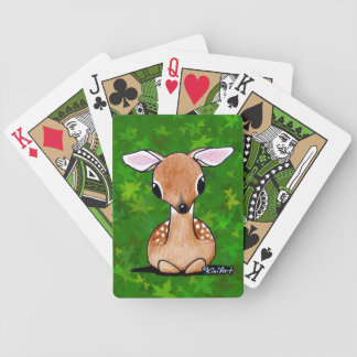 Yes Deer KiniArt Fawn Playing Cards