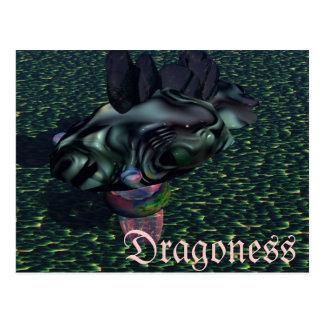 Yes Dragoness Dragon Fantasy Gifts CricketDiane Postcard