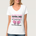Yes Fake I Fought Back Breast Cancer Awareness T Shirts
