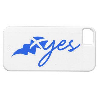 Yes - Flag of Scotland, Bratach na h-Alba iPhone SE/5/5s Case
