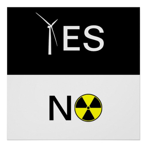 """""""YES"""" FOR CLEAN ENERGY PRINT"""