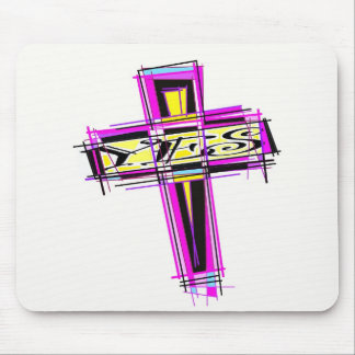 YES for The Cross. Mouse Pad