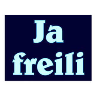 Yes freili certainly Bavaria Bavarian Bavarian Postcard