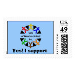 yes graphic, Yes! I support Postage Stamp