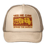 Yes He Can! Comrade Obama Spoof Hat