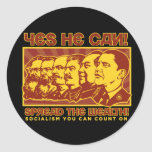 Yes He Can! Comrade Obama Spoof Stickers