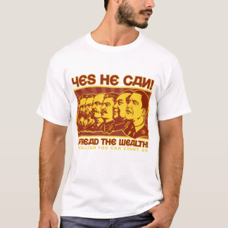 Yes He Can! Comrade Obama Spoof T-Shirt