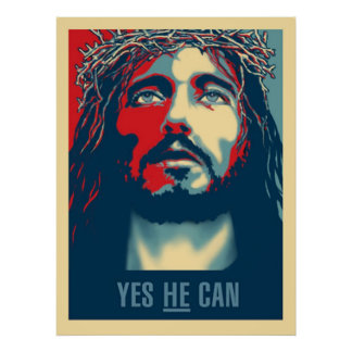 """Yes HE Can Print - 15""""x20"""""""