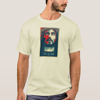 Yes He Can - T Shirt