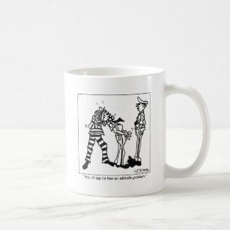 Yes, He Has An Attitude Coffee Mug