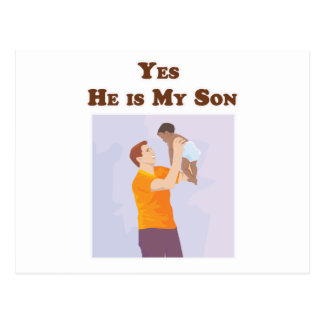 Yes He is My Son Postcard