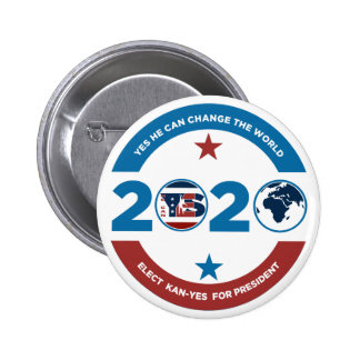 Yes He Kan -Yes 2020 Button