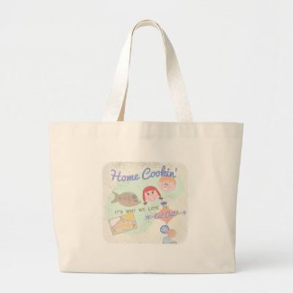Yes Home Cookin! Large Tote Bag