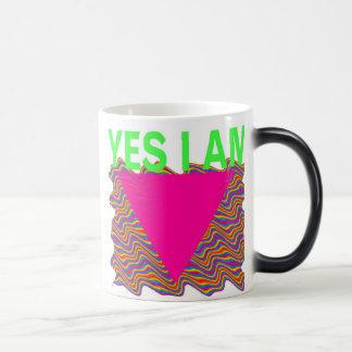 Yes I Am , 4 gay rights Magic Mug