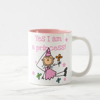 Yes I am a Princess Coffee Mugs