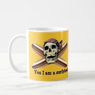Yes I am a surfpirate Mug