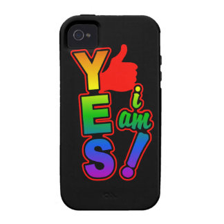 YES I AM iPhone 4 Case-Mate Case-Mate iPhone 4 Cases