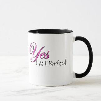 Yes I AM Perfect Mug