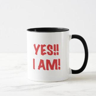 YES I am Pregnant Mug