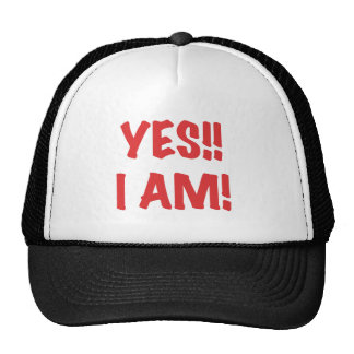 YES I am Pregnant Trucker Hat