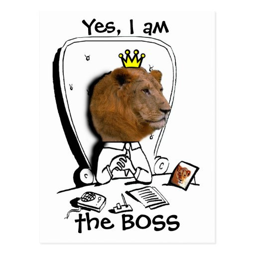Yes, I am the BOSS Postcards