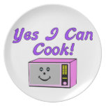 Yes I Can Cook Microwave Party Plates