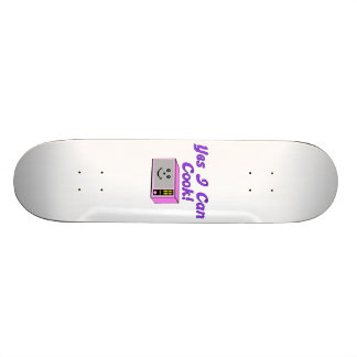 Yes I Can Cook Microwave Skateboard Deck
