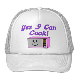 Yes I Can Cook Microwave Trucker Hat