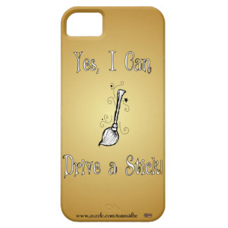 Yes, I Can Drive a Stick! iPhone 5 Cover