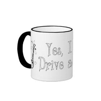 Yes, I Can Drive a Stick! Ringer Mug