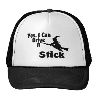 Yes, I Can Drive A Stick Trucker Hat