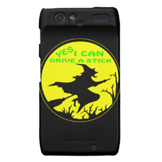 Yes I Can Drive A Stick, Witch Droid RAZR Cover