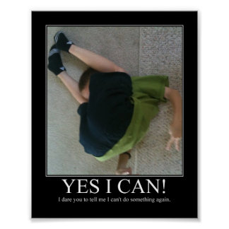Yes I Can! Poster