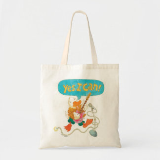 YES I CAN! sings Stuff the rocker duck Canvas Bags
