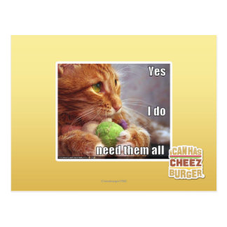 Yes I do need them all Postcard