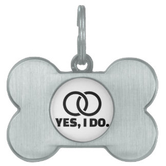 Yes I do wedding rings Pet ID Tags