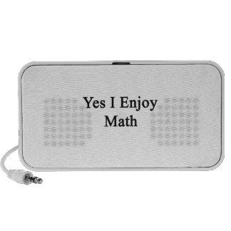 Yes I Enjoy Math Travelling Speaker