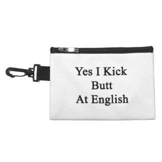 Yes I Kick Butt At English Accessory Bag