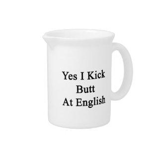 Yes I Kick Butt At English Pitcher